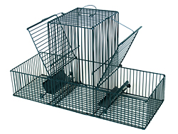 Bird-trap three compartments /5033