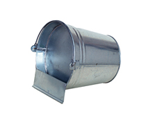 Gravity dinking metal bucket 12L /5074